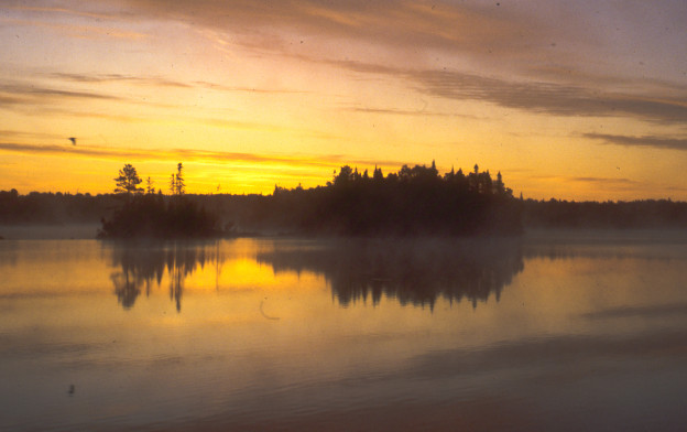 Crescent Lake Sunrise