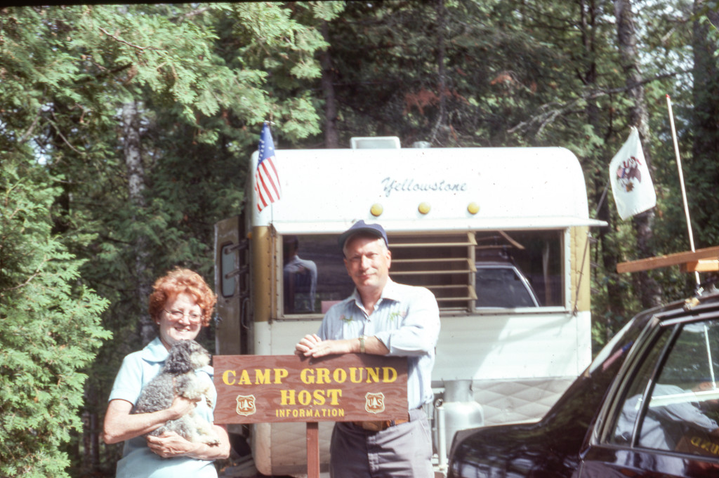 Mary and Bill, Camp Ground Hosts.